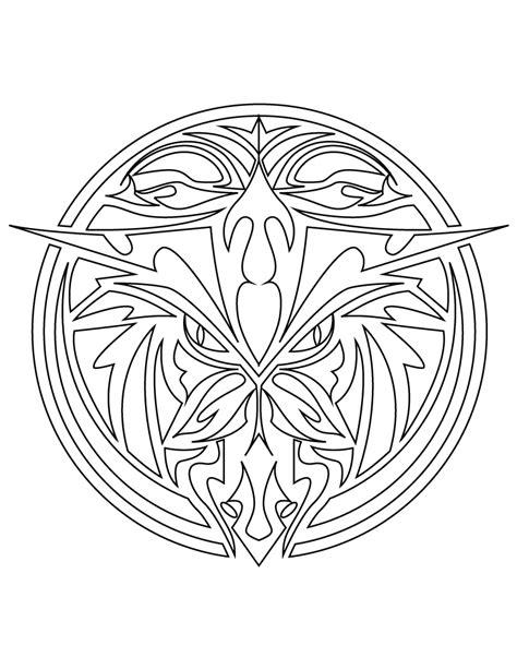 mandala animaux tatouage  imprimer artherapieca