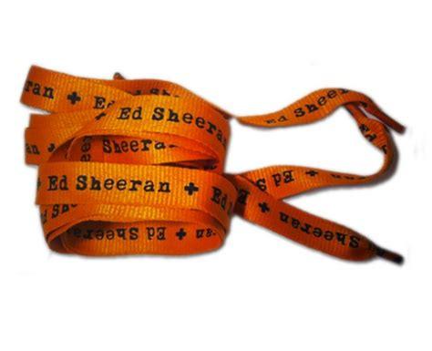 ed sheeran fanshop ed sheeran s shoelaces 18 of the weirdest pop merchandise on offer to fans capital