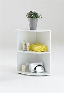 Petite étagère D Angle : etagere d 39 angle ecki 1 blanc ~ Teatrodelosmanantiales.com Idées de Décoration