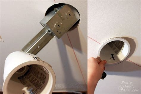 installing led lights in ceiling how to install recessed lights pretty handy