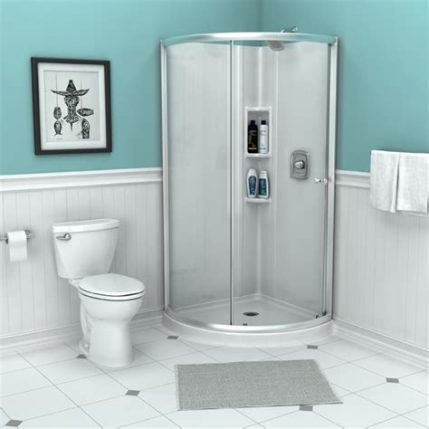 bathtub wall set axis 32 36 quot corner shower wall set 3 pieces american
