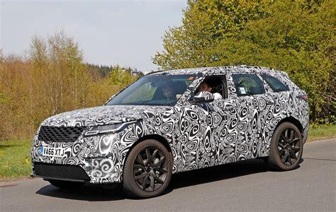 New 2019 Range Rover Velar Svr Spied  Car Magazine