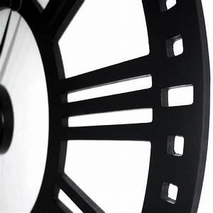 Grosse Wanduhren 80cm : vintage antike designer xxl wanduhr tiana 80cm aus holz ~ Indierocktalk.com Haus und Dekorationen