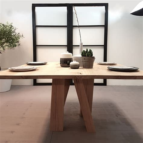 eettafel l vierkant vierkante eettafel pol afmeting vierkante tafel 140 l