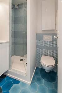 Salle De Bain Petite Surface : superb salle de bain petite surface 2m2 1 emejing ~ Dailycaller-alerts.com Idées de Décoration
