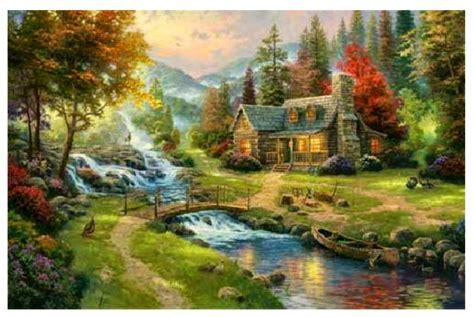 painter of light carol kauffman s vision and verse kinkade