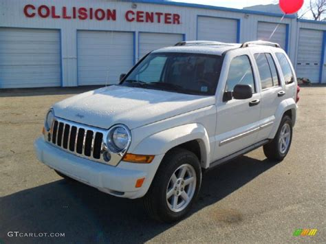 jeep liberty white 2006 stone white jeep liberty limited 44088803 gtcarlot