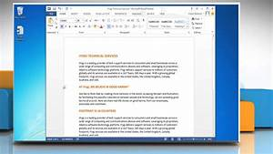 How To Change Paper Size In Microsoft U00ae Word 2013 In
