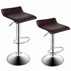 Chaise Bar Reglable : tabouret de bar chaise de bar tabouret salon moderne chrome chaise pivotante r glable achat ~ Teatrodelosmanantiales.com Idées de Décoration