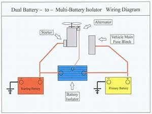 Wiring Diagram For Dual Batteries