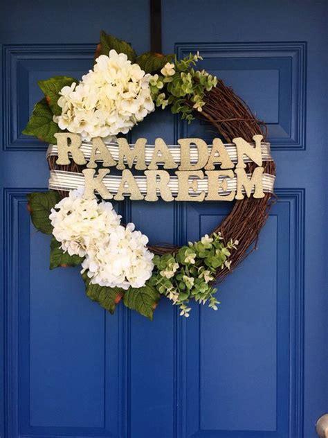 awesome wreath doors  eid  ramadan homemydesign