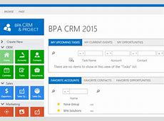 BPA CRM 2015 – Project Management & CRM for Microsoft