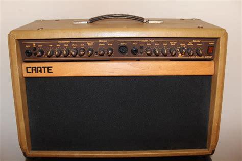 Crate Ca60d 2-channel Acoustic Guitar Amplifier Amp