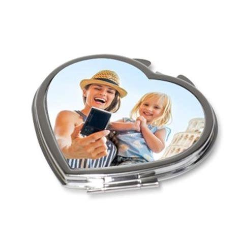 miroir de poche personnalise miroir de poche coeur photo personnalis 233 amikado