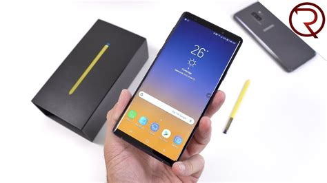 samsung galaxy note 9 unboxing benchmark results and