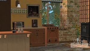 The sims 2 kitchen bath interior design stuff for Sims 3 interior design kitchen