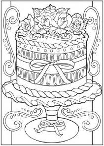 Dessert Coloring Book Pages