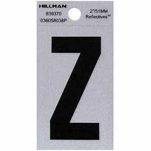 The hillman group 2 in self adhesive vinyl number pack for Reflective adhesive letters
