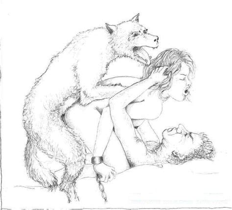 Hardcore Sexual Positions Pencil Drawing
