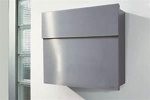 Briefkasten Edelstahl Design : briefkasten letterman 4 edelstahl von radius design ~ Markanthonyermac.com Haus und Dekorationen