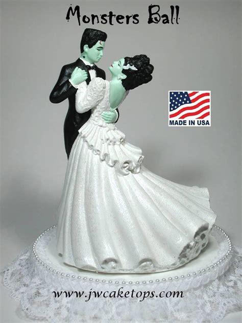 Frankenstein Halloween Wedding Cake Topper 48mb #2419130