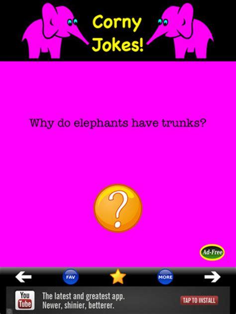 corny jokes app review youll  run   bad