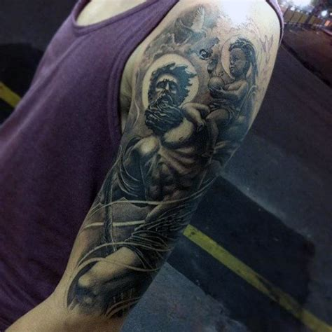 outstanding st christopher tattoo designs