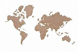 Carte Du Monde En Bois : carte du monde deco d co carte du monde carte 2018 ~ Nature-et-papiers.com Idées de Décoration
