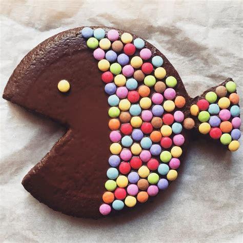 gateau chocolat poisson avril smarties le bonbon recettes