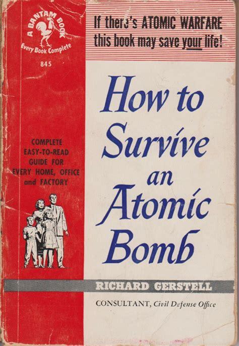 war atomic nuclear cold bomb 1950 1950s duck propaganda 60s age archive survive 50s drills toys prepped fear prepare worst