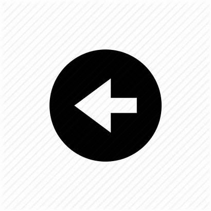 Button Icon Arrow Previous Left Prev Vector