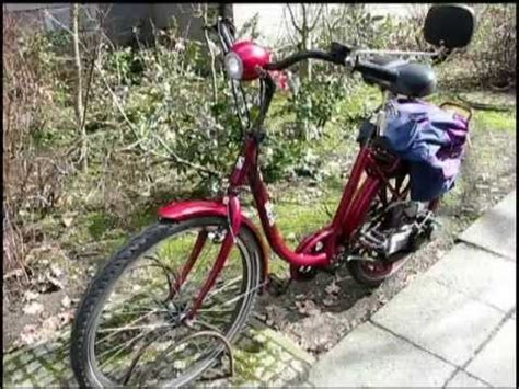 fahrrad mit hilfsmotor sachs saxonette fahrrad mit hilfsmotor elektrostarter moped