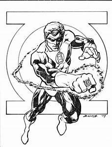 11 green lantern coloring pages for kids | Print Color Craft