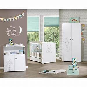 armoire chambre bebe 2 portes basile baby price pas cher a With déco chambre bébé pas cher avec fleuriste livraison Ï domicile