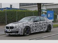 BMW F90 M5 Spied, Reveals Headlights and Taillights