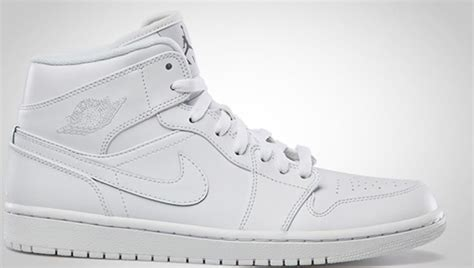 Air Jordan 1 Mid White/Cool Grey | Jordan | Sole Collector