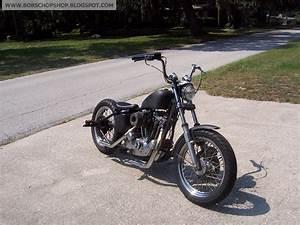 Bobs Chop Shop  1977 Harley Ironhead Sportster Chopper
