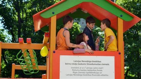 Rotaļlaukuma atklāšana Strazdumuižā 10.06.2015 ...