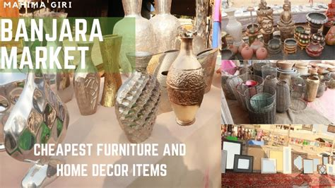 banjara market cheapest home decor  furniture items