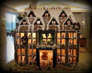 Rockefeller Square Christmas Tree Lighting Gingerbread House Was First Brought To America By German