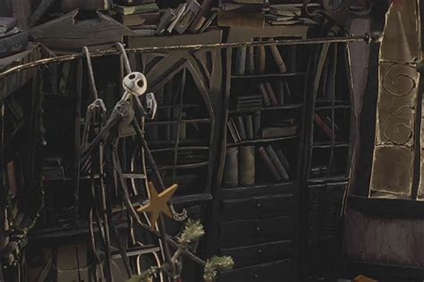 Jack's Bedroom Bookcase From The Nightmare Before Christmas