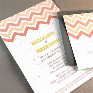 plantable chevron wedding invitation plantable wedding With wedding invitations you can plant