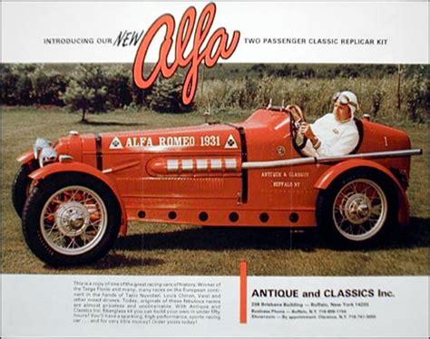 1931 Alfa Romeo Kit Car by Imcdb Org Antique Classic Alfa Romeo 1931 Replica In