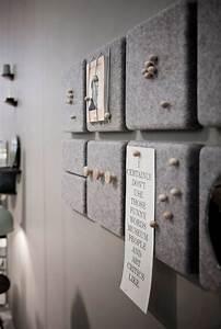 Türen Bekleben Selber Machen : korkplatten mit filz bekleben oder an der r ckwand festtackern bilder leinwand deko ~ Frokenaadalensverden.com Haus und Dekorationen