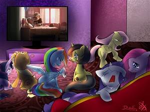 Mane 6 Cry Over Ellie's Death from Up by ...