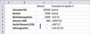 Excel Prozent Berechnen : wie berechnet man gewinn und verlust ~ Themetempest.com Abrechnung