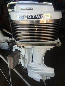 50 Hp Mercury Vintage Classic Outboard Mercury 500
