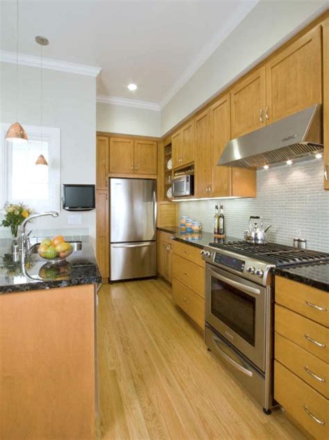 small galley kitchens spaces in your small kitchen hgtv 2343