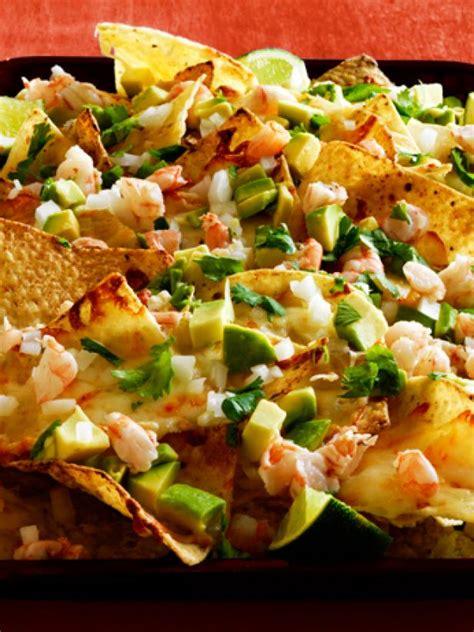 margarita shrimp nachos recipe food network kitchen food network