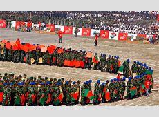 Bangladesh waves largest human flag Multimedia DAWNCOM